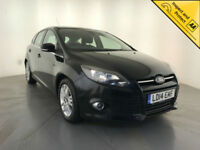 2014 FORD FOCUS TITANIUM NAV ECON TDCI DIESEL 1 OWNER FORD SERVICE HISTORY