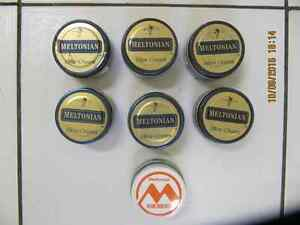 Lot of  7pcs of Kiwi Meltonian Shoe Cream Half Price AsstColours