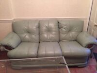 3 Seater, Chair & Foot stool