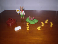 Playmobil Easter Bunny with Spring Chicks.