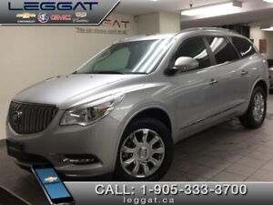 2017 Buick Enclave Leather  - Leather Seats - Navigation