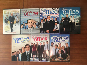 The Office Seasons 1 to 7, $10 each or $50 for everything