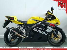 Suzuki GSX-R750 Yellow and Black 2004 - Seat Cowl, Service, MOT and Warranty