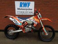KTM EXC 250, FACTORY EDITION 2015, 1799 MILES & 104 HOURS, FULL MOT, EXTARS