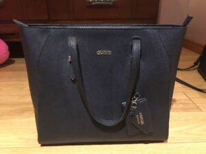 GUESS Brand Large Leather Tote - Excellently Condition