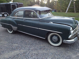 1952 chev. Styling Deluxe