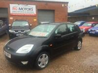 2004 Ford Fiesta 1.4 TDCi 1398cc Zetec Black 5dr Hatch, **ANY PX WELCOME**