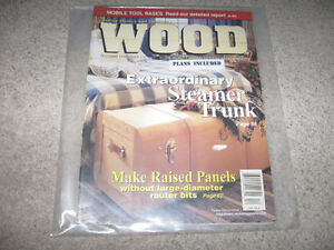 Wood Magazine-Issues from 1996-1999 with plans-$5 each