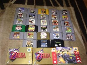 Nintendo 64 N64 Games Controller Red Top accessories Ect