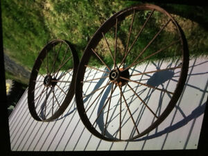 Roue antique