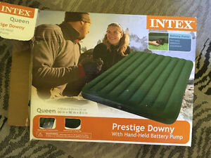 New Queen-sized Blow-up Mattress