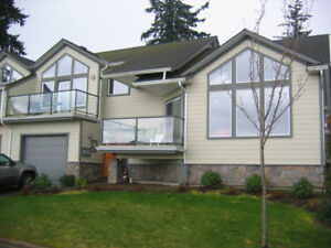 STUNNING SEASIDE 4 QUEEN BEDS QUALICUM BOWSER,  - July Available