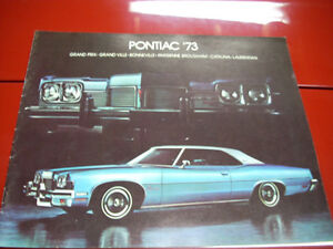 1973 Pontiac sales brochure