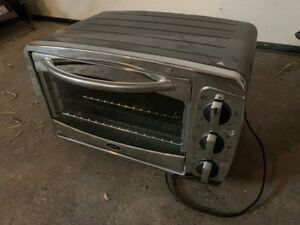 stainless oster toaster oven - new
