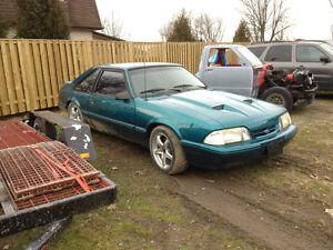 MUSTANG FOX BODY PART OUT!!