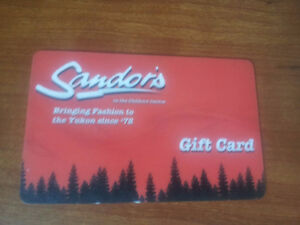 $25.00 Sandors Gift Card for $10.00 (60% Off)