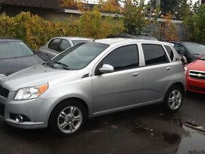 2010 Aveo Sport, MINIMUM DOWN