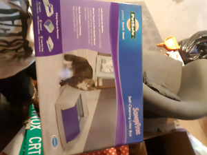 Petsafe auto cat litter box FIRM PRICE never opened brand new