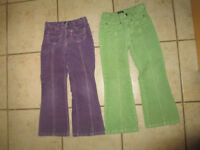 2 Old navy pants, size 6 - 7 years
