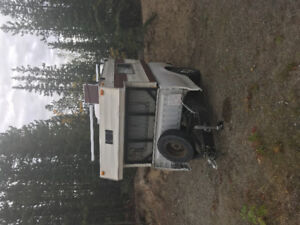 Truck box trailer & camper