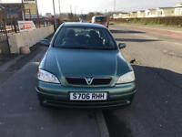 Vauxhall/Opel Astra 1.6i 16v 1999MY Club Cheap Reliable Car