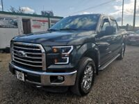 Ford F-150 supercrew cab 4x4 5.0 v8 (grey) 2015