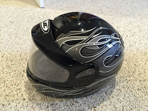 Medium HJC snowmobile helmet