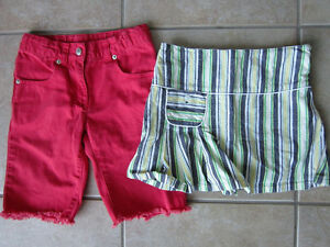Gymboree Size 5 Skort and Shorts