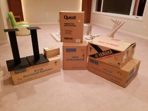 Roger hi fidelity home theater speaker system.