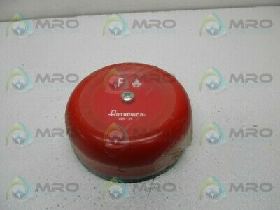 Autronica Bbr-24 Fire Alarm Bell New No Box