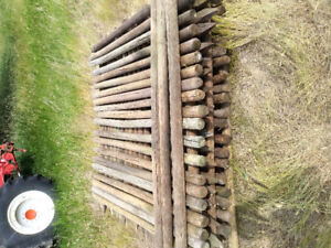 6ft. Thin Fence Posts