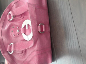 Guess pink purse and matching wallet