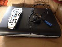 Sky+HD box plus remote