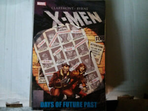 X-Men Days of future past TPB comic (Collecting Uncanny X-Men #