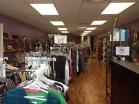 Thrift Boutique Business for Sale