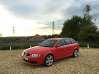 2004 Audi A4 Avant 1.8 Turbo 190 S Line Auto 5 Door Estate Red