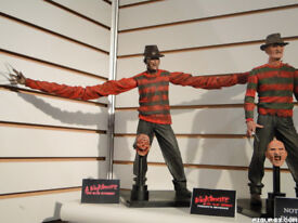 Rare NECA Nightmare on Elm Street figures 1 and Freddy's Revenge