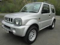 02/02 SUZUKI JUMNY 1.3 JLX 3DR 4X4 IN MET SILVER WITH ONLY 80,000 MILES