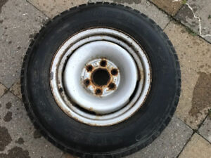 Tire with Rim for sale