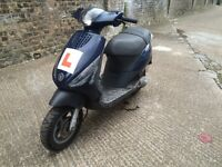 2005 Piaggio Zip 50cc learner legal scooter. Not running. Needs repairs. No offers.