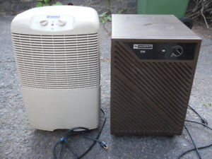 2 dehumidifiers for $20