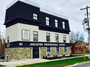 Rooms for rent Ancaster - chiro, massage, naturopath, podiatry