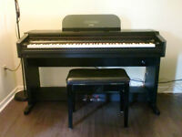 Full size CASIO Digital Piano w/ stand and stool
