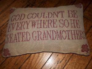 Grandmothers pillow.