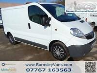 2011 61 VAUXHALL VIVARO 2700 SWB 2.0 CDTI 115PS 97K FULL HISTORY ONE OWNER