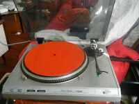 Vintage TABLE TOURNANTE / TURNTABLE Fisher MT-6410