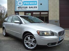 2006 (56) VOLVO V50 ESTATE 2.0D 136 SE, 1 PREVIOUS OWNER, HEATED LEATHER, CRUISE