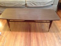 1960s coffee table and end table set! Very cool!