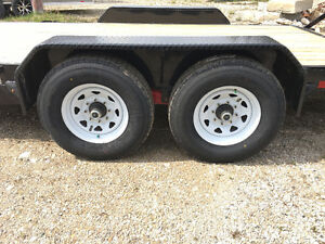 7x18      14k Implement trailer Kitchener / Waterloo Kitchener Area image 3