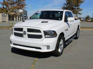 "2014 RAM 1500 Sport with 6'4"" Box and Extended Warranty!"